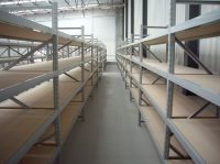 Long Span Extra Heavy Duty Shelving