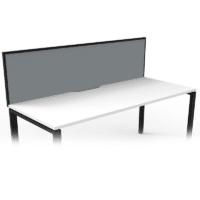 grey desk divider