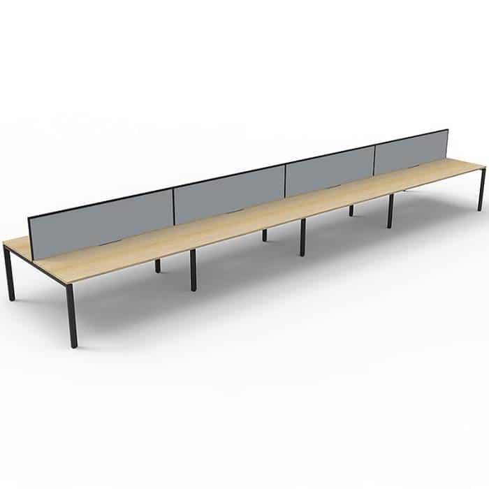 Natural Oak Infinity Desk