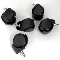 Soft Wheel, Non-Marking Reverse Braking Castors