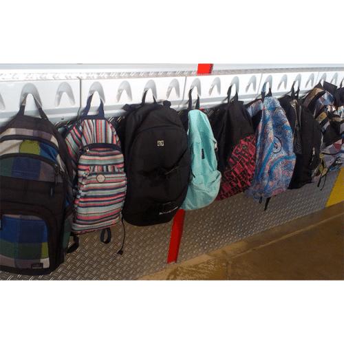 school bag hooks