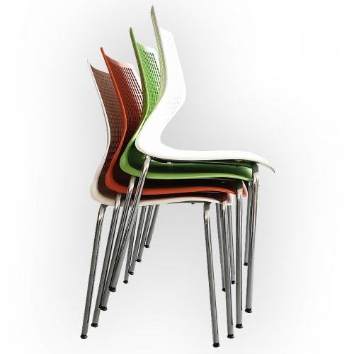 Gina Chairs, Stacked