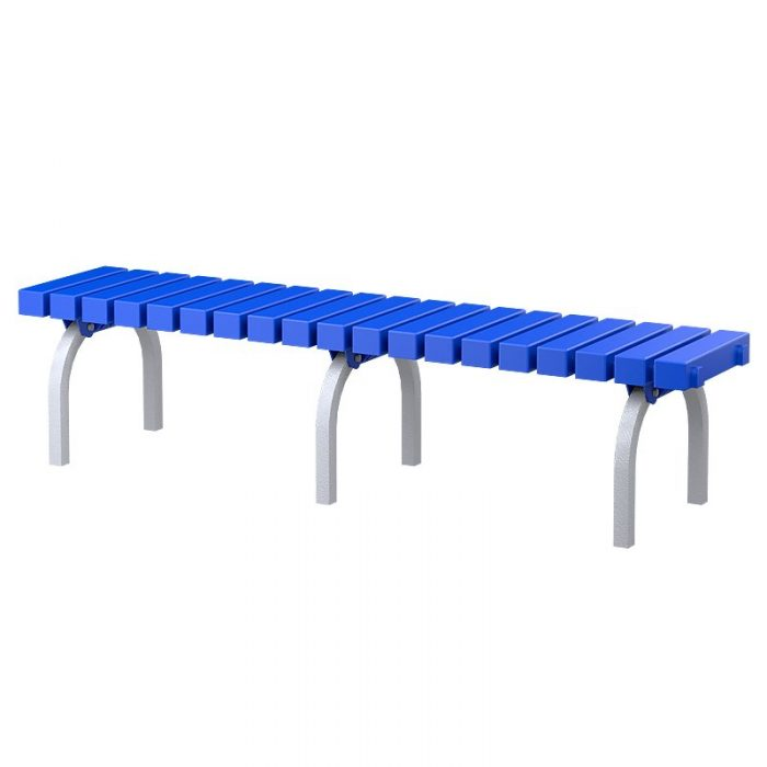 Locker room bench seat