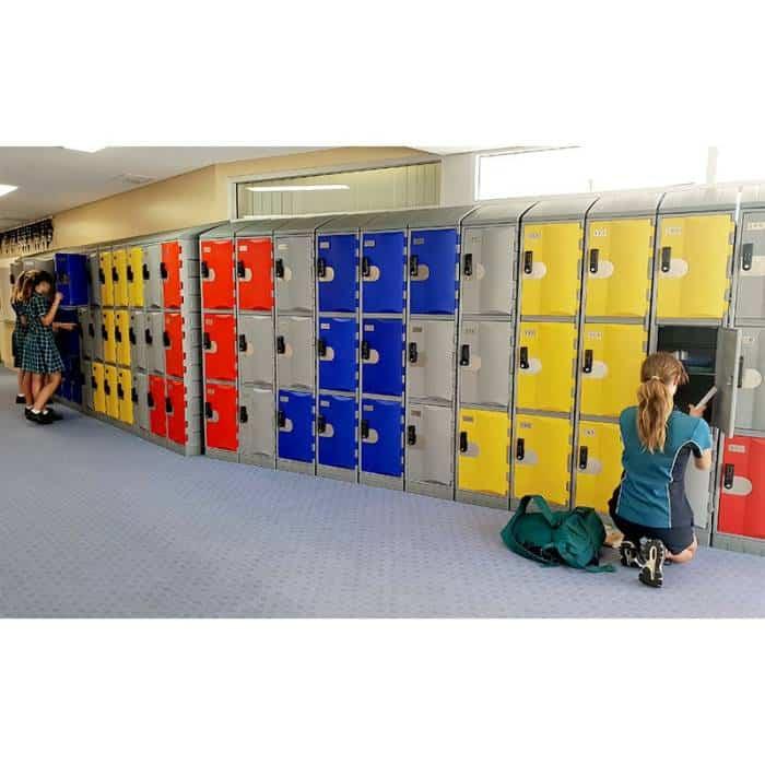 Smart Heavy Duty Plastic Lockers Example 4