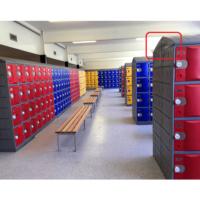 Plastic school lockers