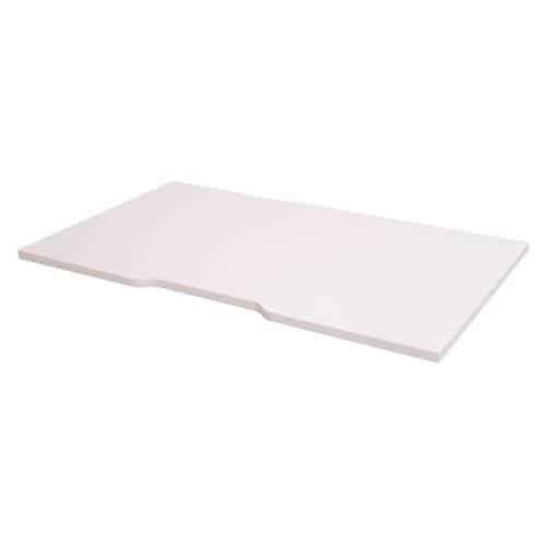 White desk top