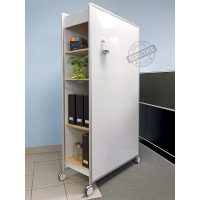 Cubby Mobile Whiteboard Storage Unit