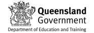 Queensland Department of Education and Training logo