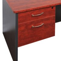 Executive Fixed Drawer Unit, 1 Personal + 1 Deep File Drawer
