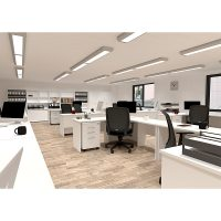 Space System Squareline Desks