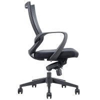 Focus High Back Chair, Side View