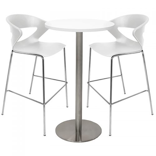 Stacey High Table and Angela Bar Stool Package