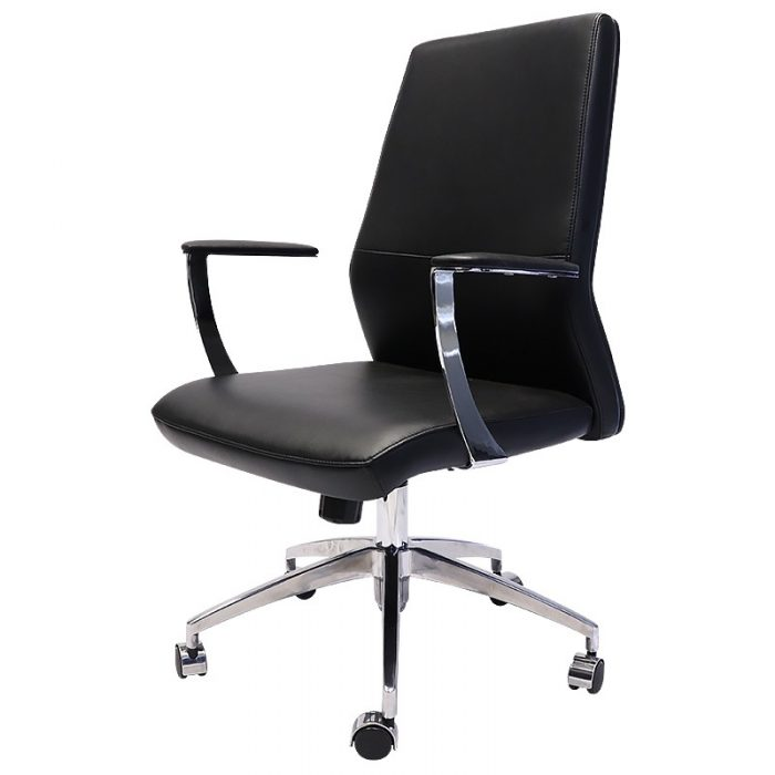 Vanessa Pro Medium Back Chair, Front Angle View