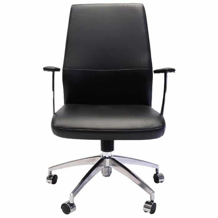 Vanessa Pro Medium Back Chair, Front View