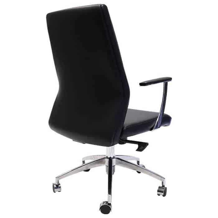 Vanessa Pro Medium Back Chair, Rear Angle View