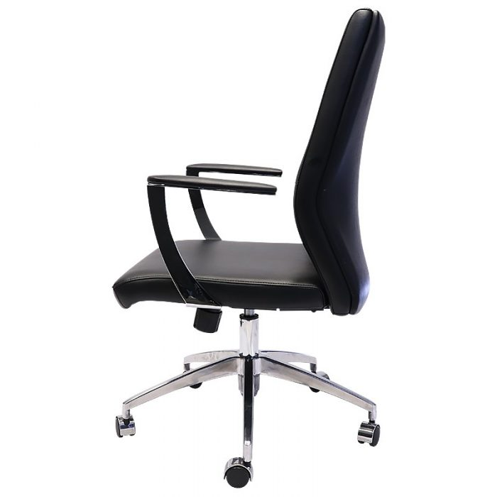 Vanessa Pro Medium Back Chair, Side View 2