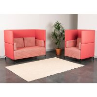 Viva High Back Chair and 2 Seater Lounge
