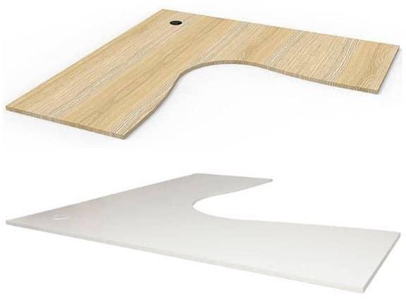 Timber desk top