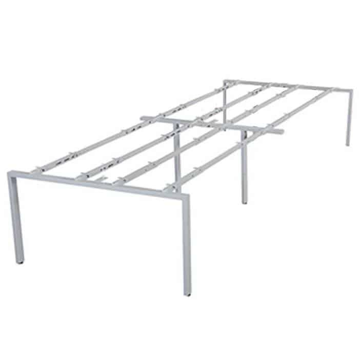 Desk pod under frame