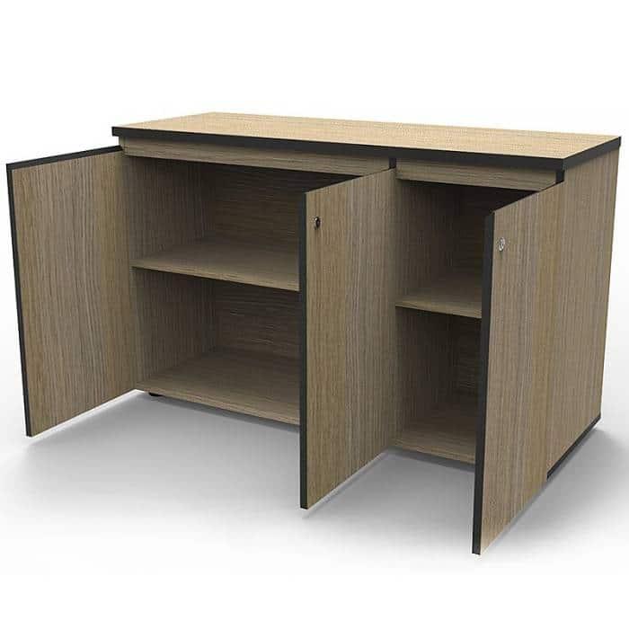 oak office cabinet