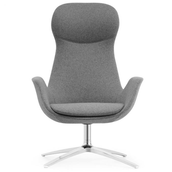 Grey Reception Chair