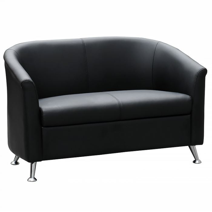 Office sofa, black