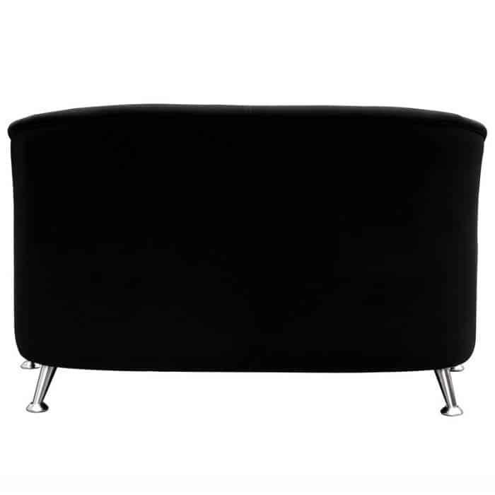 Black fabric 2 seater tub