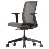 Black mesh executive chair