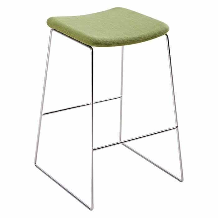 Bar stool chrome frame