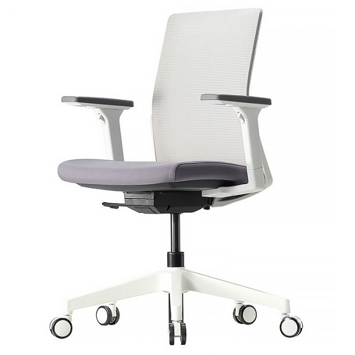 White mesh meeting chair