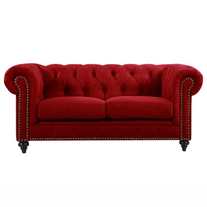 Red Chesterfield Lounge
