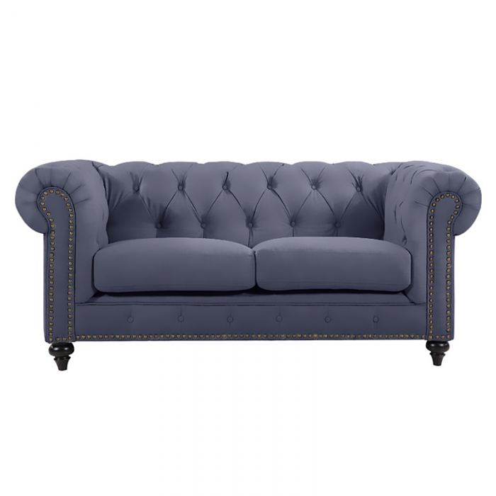 Grey Chesterfield Lounge