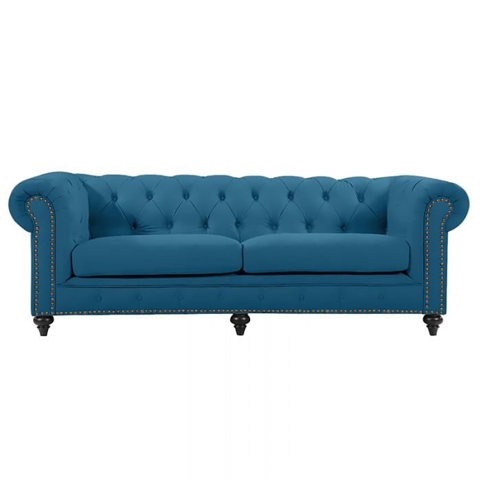 Turquoise Chesterfield Sofa