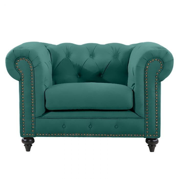 Green Chesterfield Chair