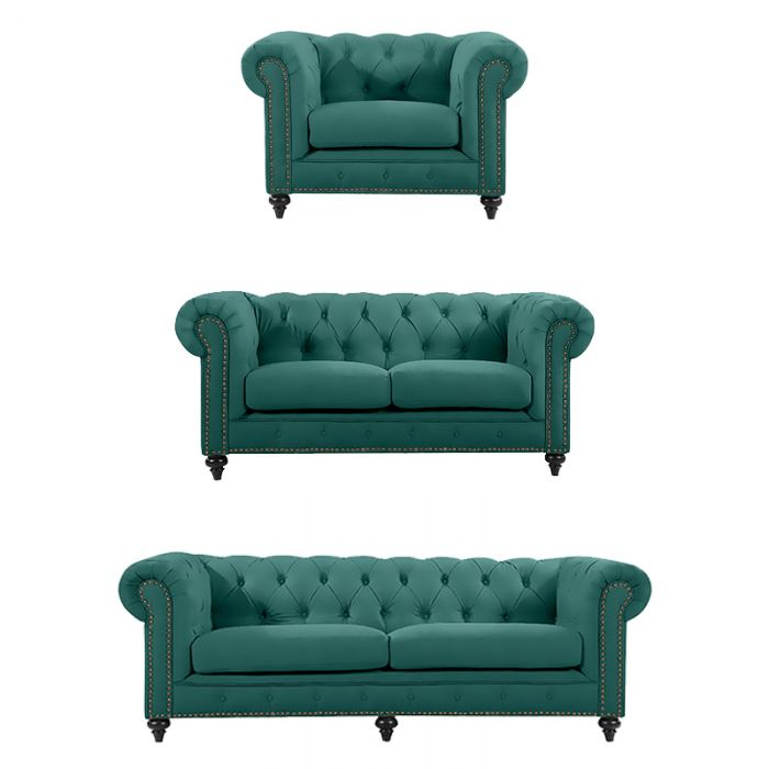 Emerald Chesterfield Suite