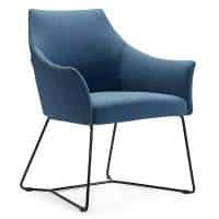 Blue Waiting Chair