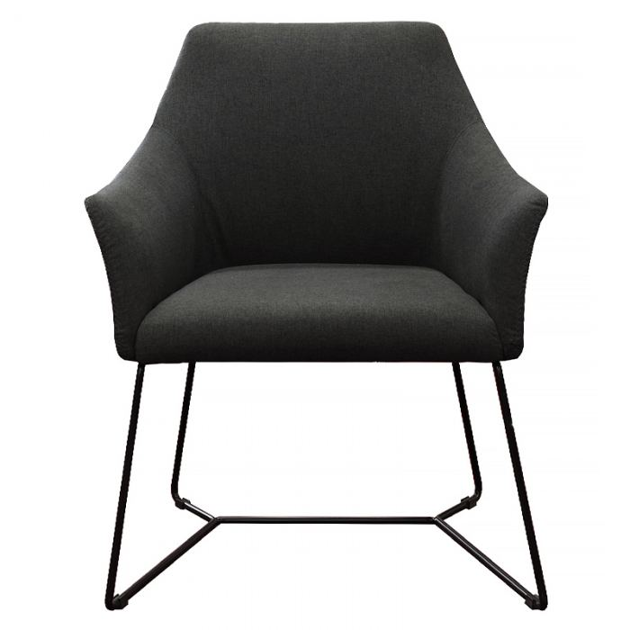 Charcoal Reception Chair