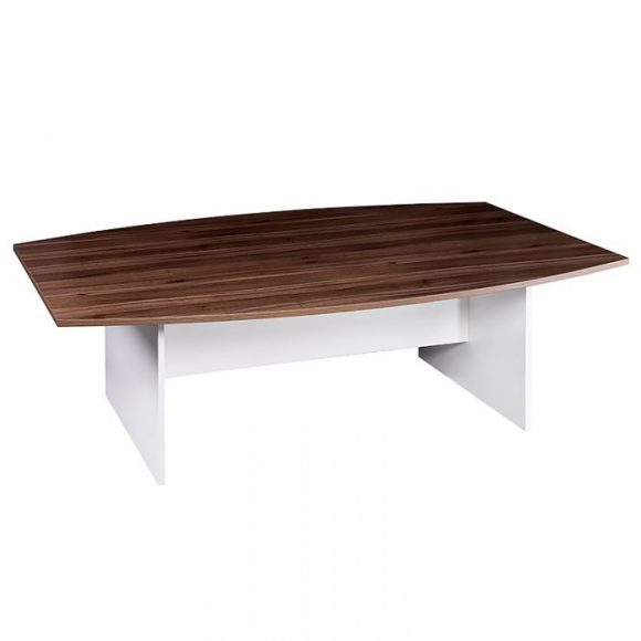 boat-shaped table