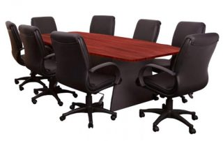meeting room chairs and table