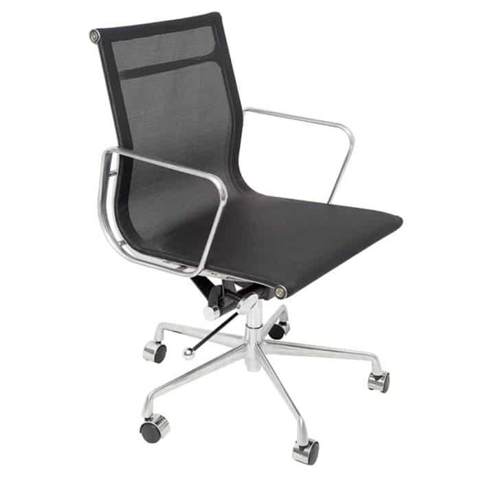 SOHO Medium Back Chair with a gas lift and a single tilt-lock mechanism