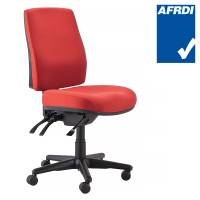 Buro Roma Chair, Red