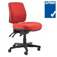 Red Buro Roma Chair