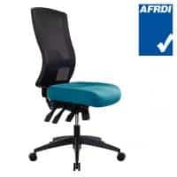 Buro Tidal High Back Chair, Teal